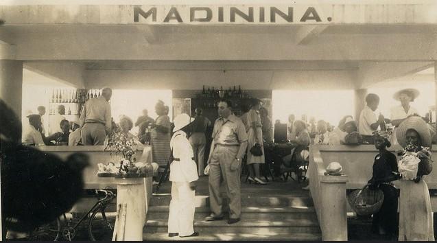 Bar Madinina, St. Pierre, Martinique